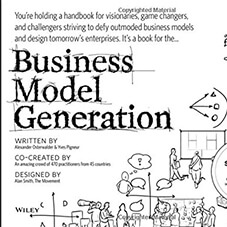 Business Model Generation visual thinking book for graphic facilitation